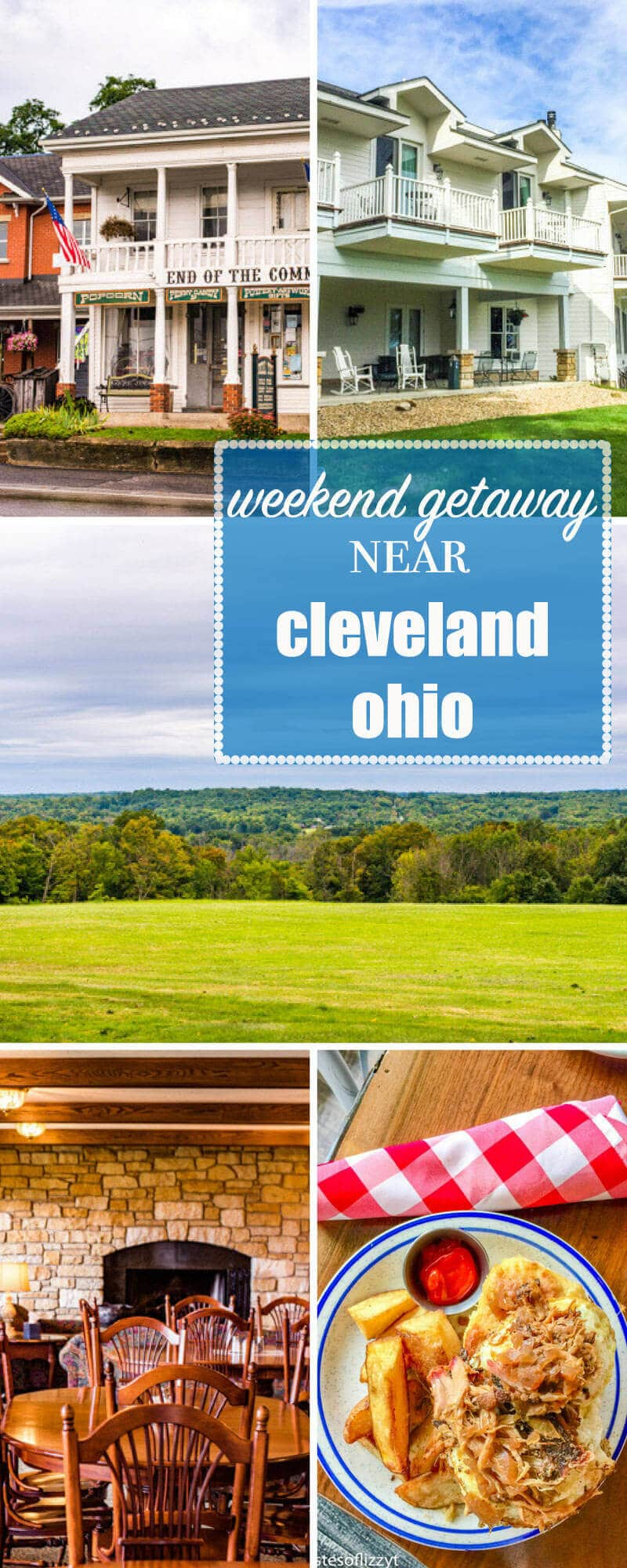 If you're looking for a weekend getaway near Cleveland, Ohio, look no further than the Red Maple Inn in Burton, Ohio's beautiful countryside. Weekend Getaway Near Cleveland Ohio {Best Food and Where to Stay}