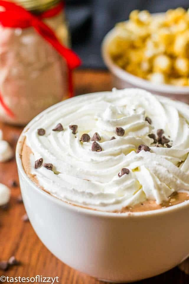 Homemade Hot Chocolate Mix {Bulk Hot Cocoa Recipe with Pudding}