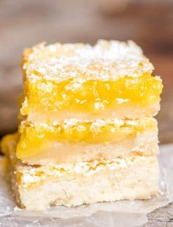 easy lemon custard bars