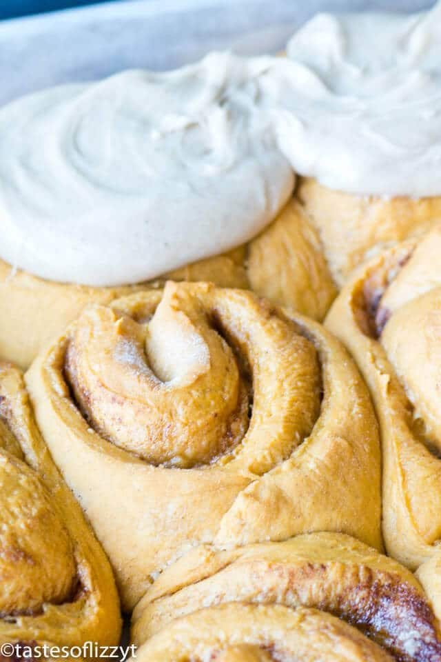 pumpkin cinnamon roll recipe