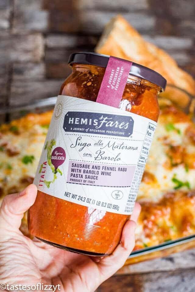 hemisfares italian pasta sauce