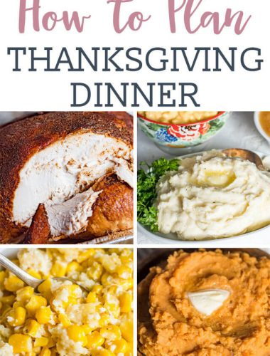 Hints on How to Plan Thanksgiving Dinner. Includes a printable checklist and ideas for planning ahead so your holiday goes smoothly.
