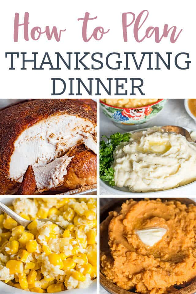 thanksgiving dinner collage title image