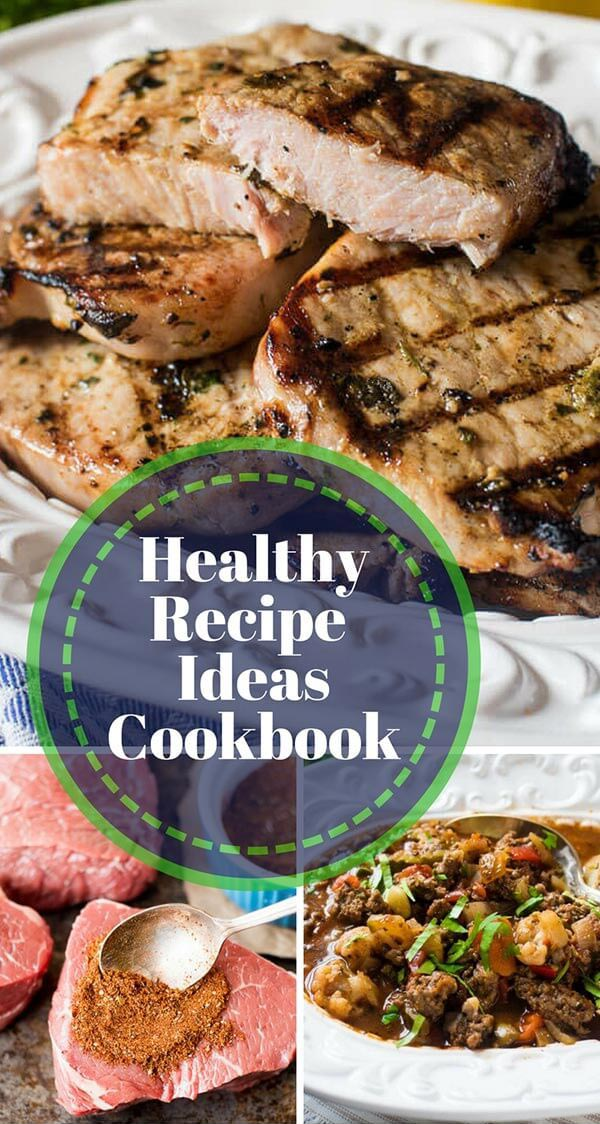 healthy recipes title image