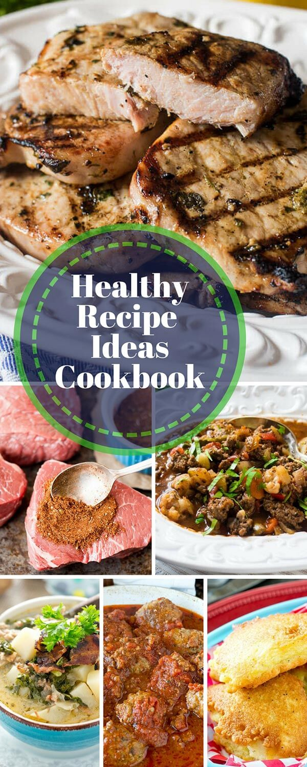 Do you need new recipes to inspire yourself to cook healthy meals for your family? This downloadable cookbook is full of healthy main dish recipes that the whole family can enjoy. #cookbook #recipes #paleo #glutenfree #diet #healthy