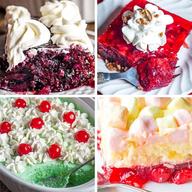 JELLO SALADS FOR THANKSGIVING