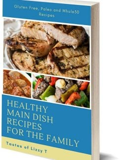 healthy recipes cookbook cover