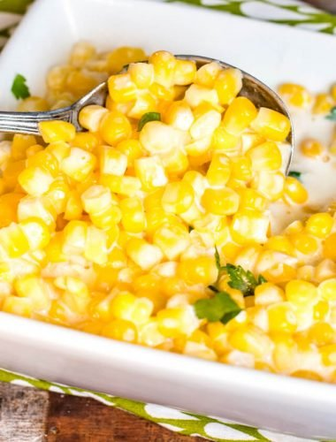 easy crock pot creamed corn recipe