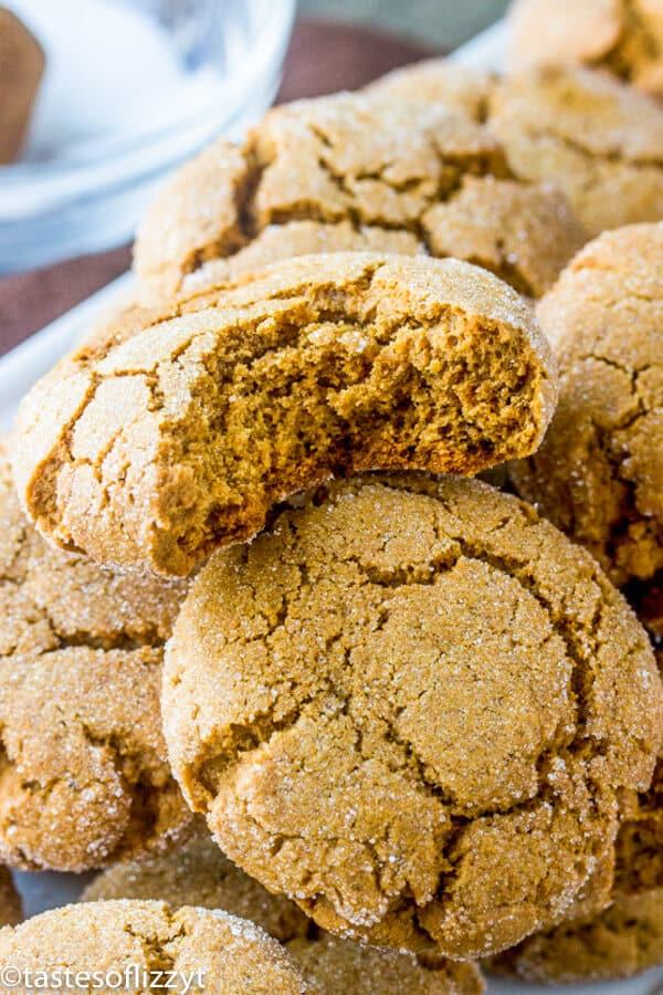 soft molasses cookie recipe