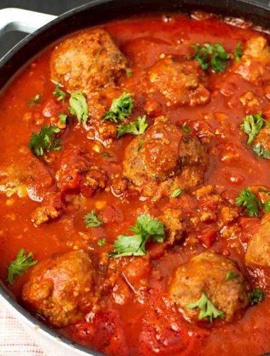 whole30 italian meatballs