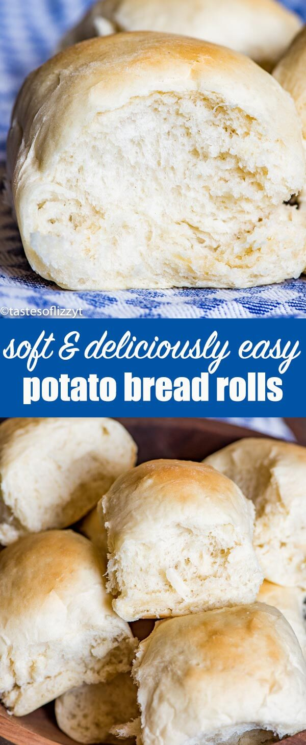 Use leftover mashed potatoes in these fluffy potato rolls. These soft dinner rolls stay tender at room temperature for several days.