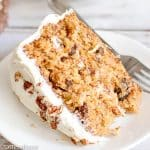 Carrot Cake Recipe with Pineapple, Coconut, and Nuts {From Scratch!}