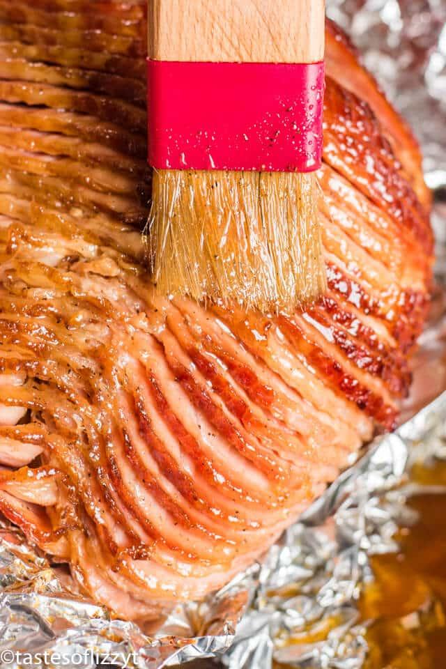 How To Cook A Ham Easy Baked Ham And Honey Ham Glaze Recipe