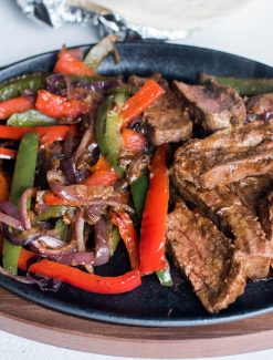 how to make steak fajitas at home