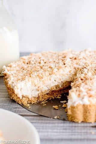 Coconut Cheesecake Tart
