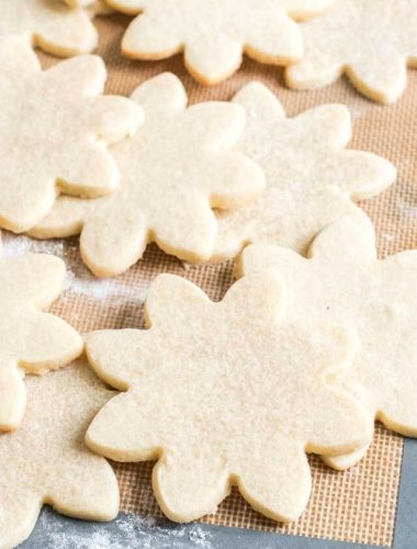 shortbread cutout cookie recipe