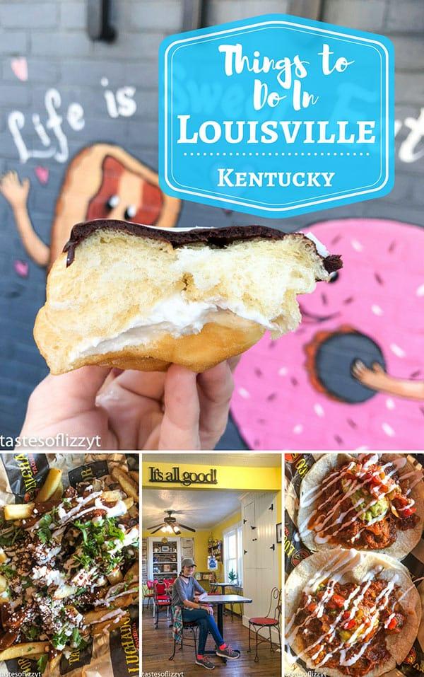 Louisville Kentucky food collage