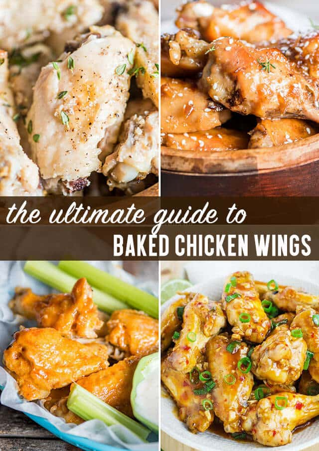ultimate guide to chicken wings title image
