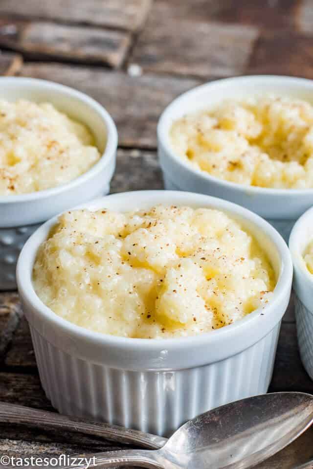 Easy Tapioca Pudding Recipe