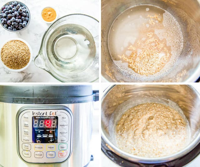 how to make steel cut oats in instant pot