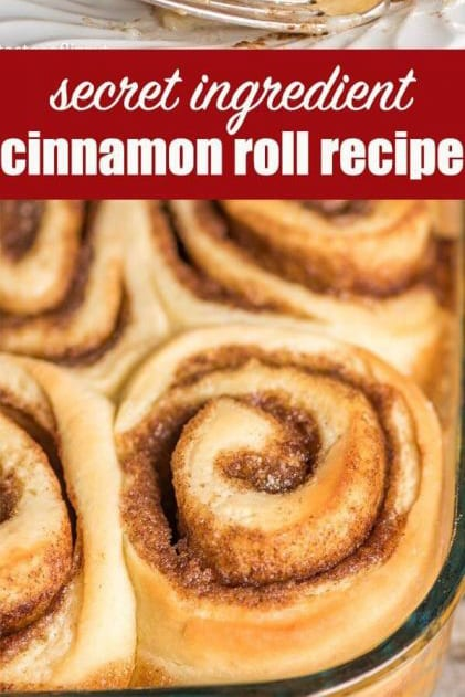 The best homemade cinnamon rolls ever! If you love gooey cinnamon buns, here's the secret ingredient. Everyone raves about these homemade yeast rolls.