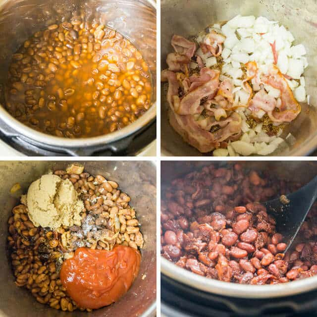 how to make baked beans in an instant pot