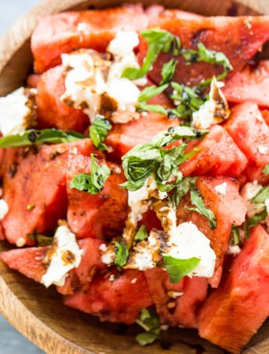 easy watermelons salad recipe