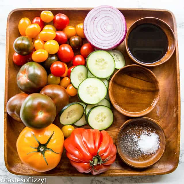 cucumber tomato salad ingredients