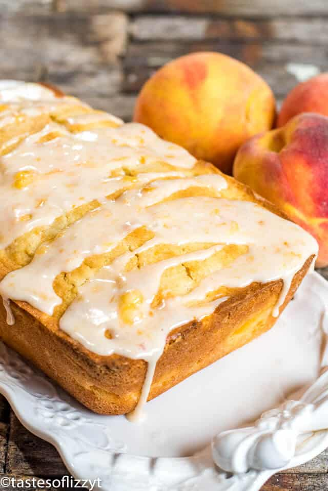 the best peach bread loaf