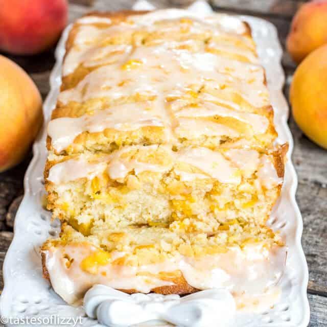 how to make peach bread