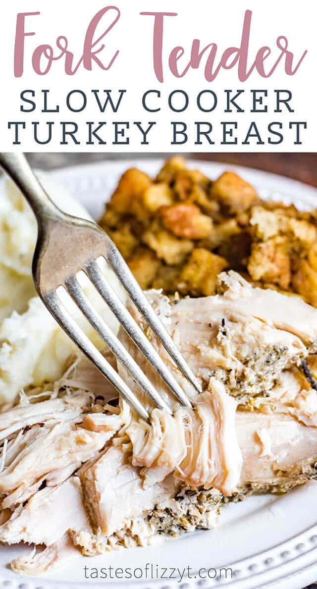 slow cooker turkey breast title image