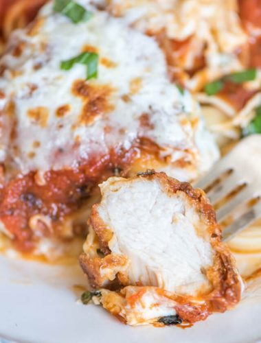 The best chicken parmesan recipe