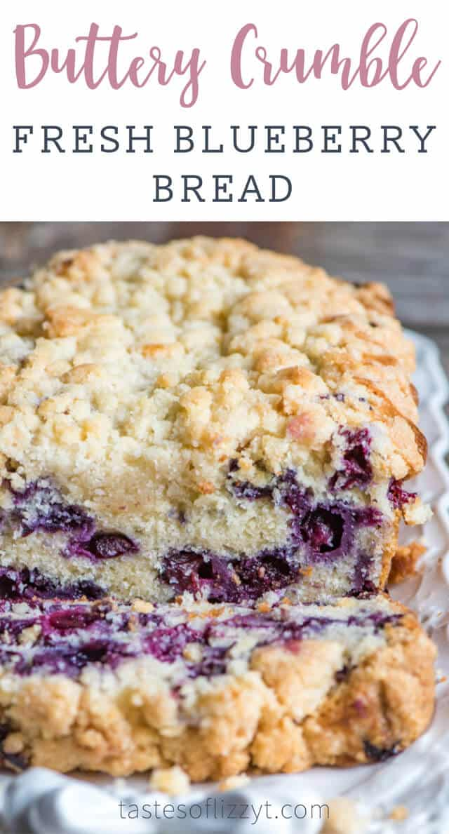 blueberry streusel bread title image