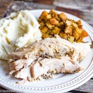 how to season turkey breast