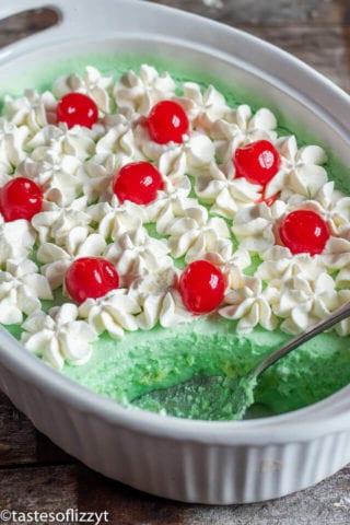 7UP Lime Jello Salad