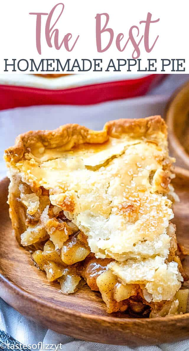 Saigon cinnamon and freshly grated nutmeg are the keys to making this the best homemade apple pie around. #applepie #pie #apples #thanksgiving #dessert via @tastesoflizzyt