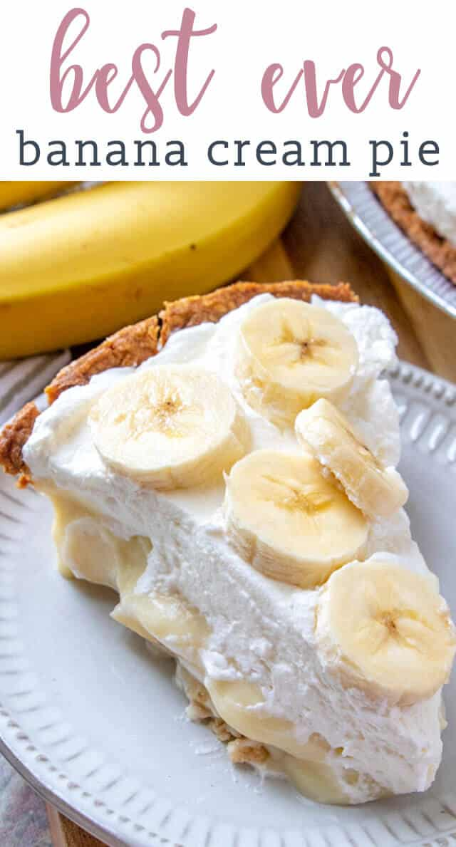 100% from scratch, banana cream pie. Making homemade cream pie is easier than you may think! Creamy banana filling, homemade whipped cream and fresh banana slices in the pie and on top.  via @tastesoflizzyt