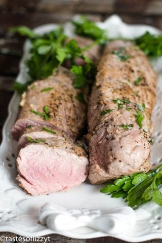 Garlic Butter Pork Tenderloin