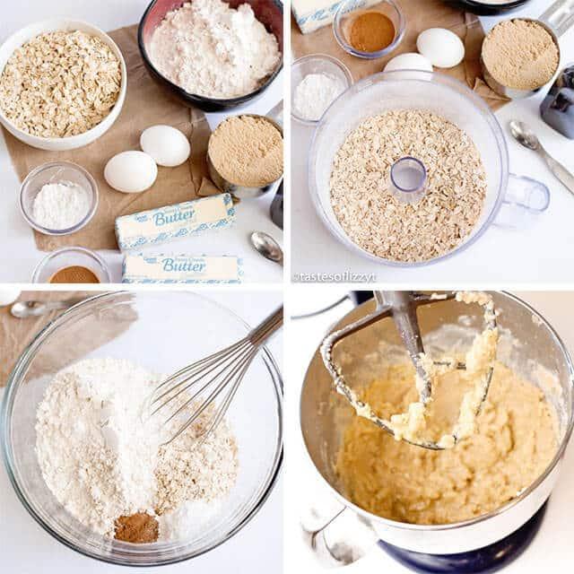 how to make oatmeal cookies recipe
