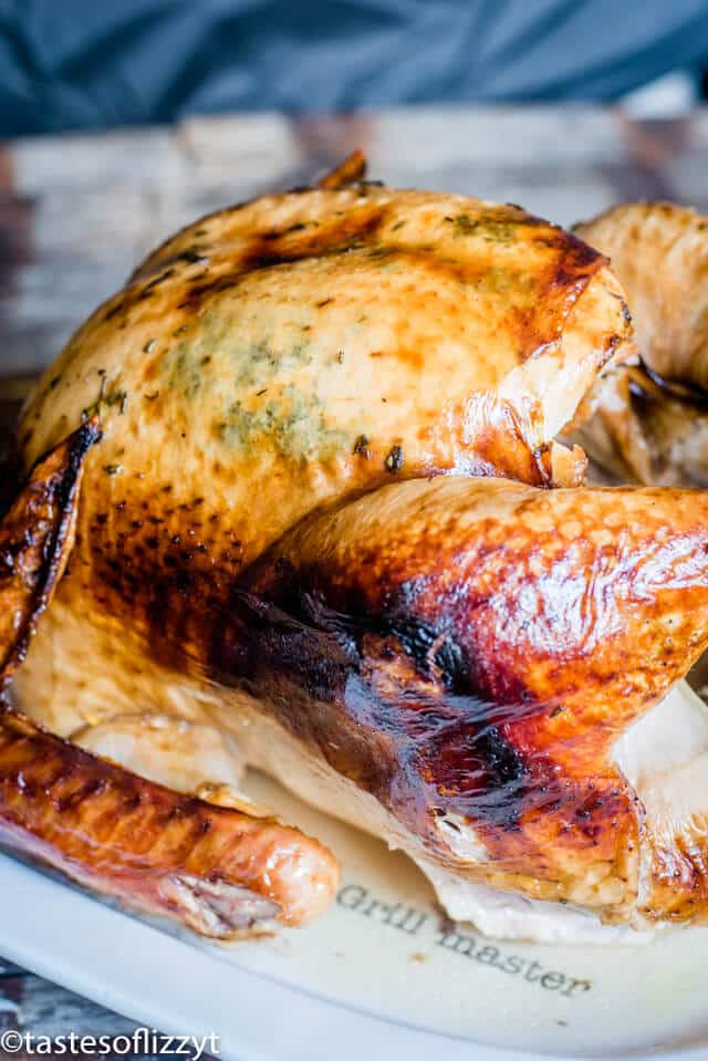 golden brown whole turkey