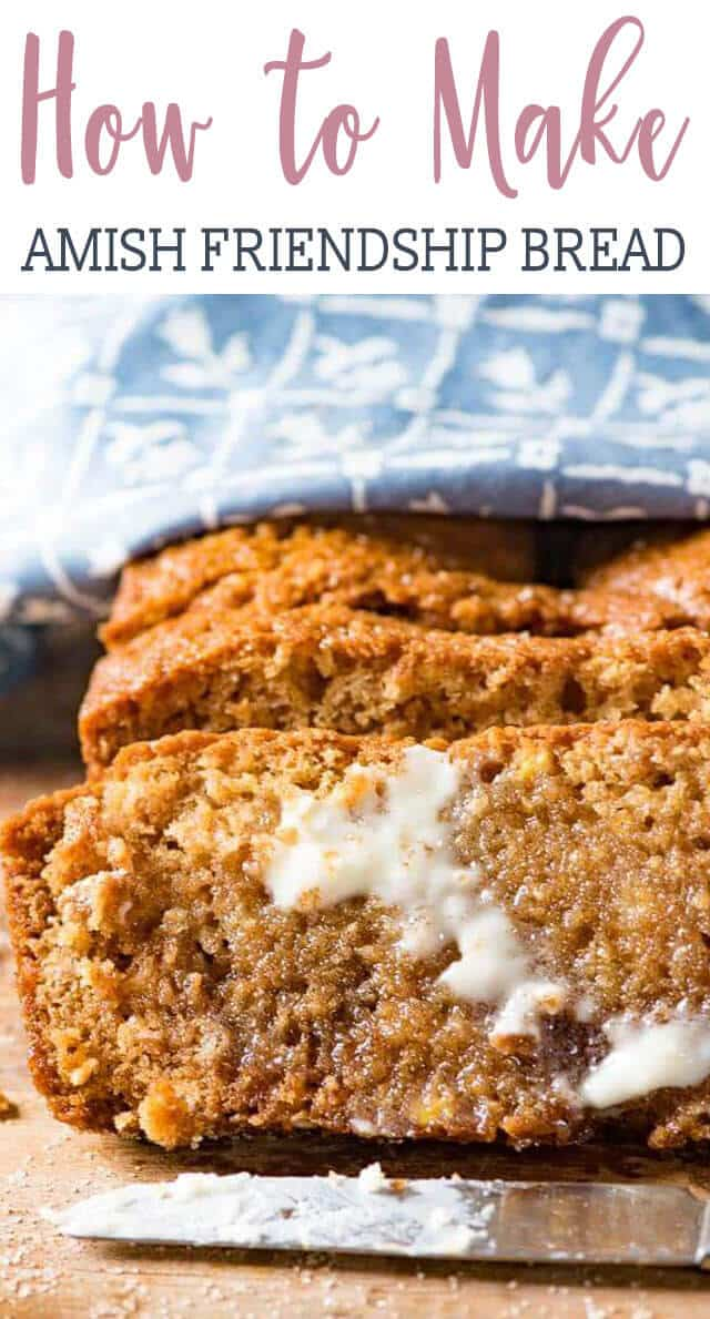 Amish Friendship Bread Recipe With Sweet Sourdough Makes