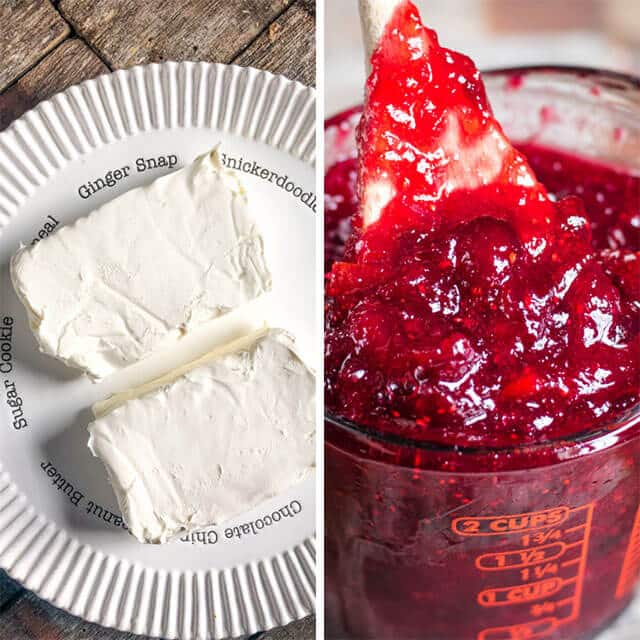 cream cheese and cranberry spread