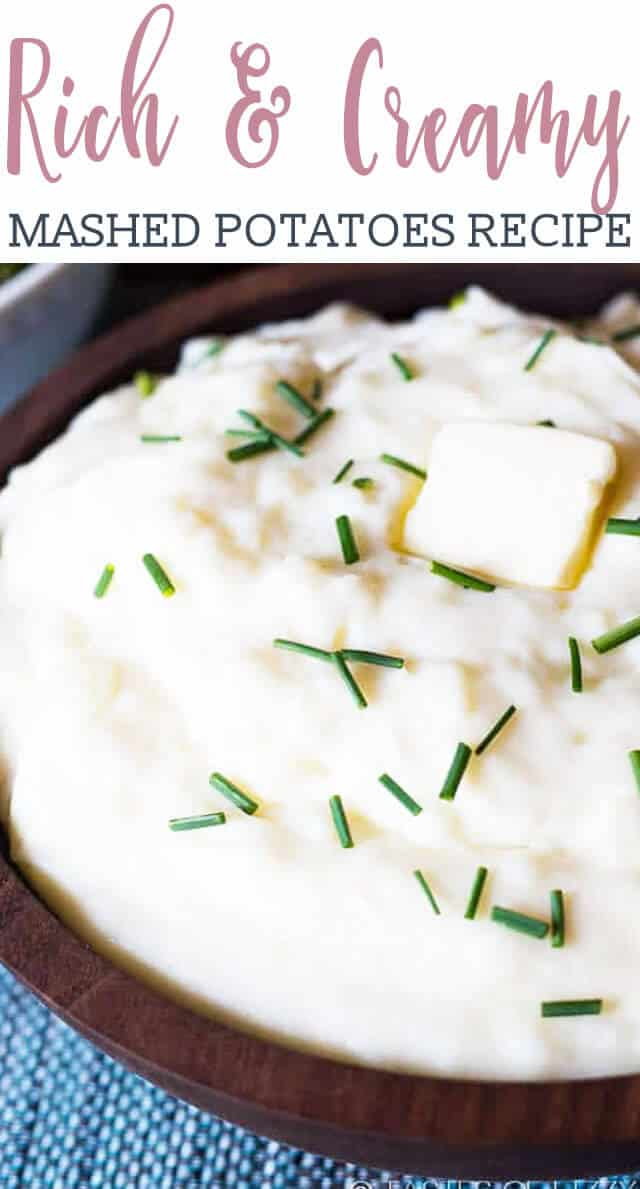 Three key ingredients make up these rich and creamy mashed potatoes. You'll never make mashed potatoes another way again. They're also a great slow cooker mashed potato recipe.