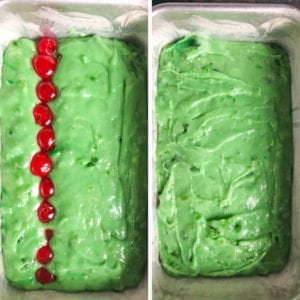 how to make grinch bread