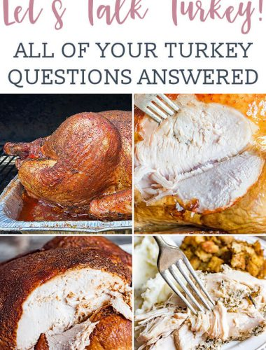 Thanksgiving Day tips on everything you need to know about how to cook a turkey! From brining to smoking to roasting, serve a delicious turkey, every time.