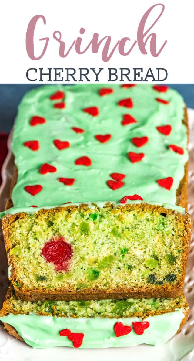 grinch cherry bread title image