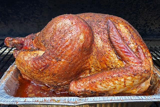 Fresh smoked turkey rub