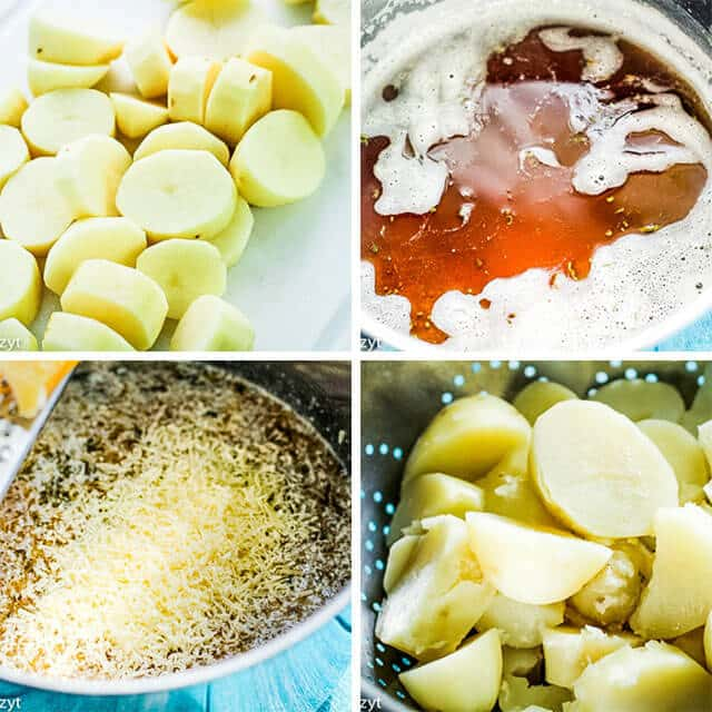how to make browned butter collage