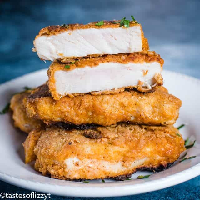 juicy Fried Pork Chops