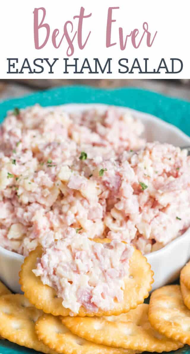 ham salad in a bowl